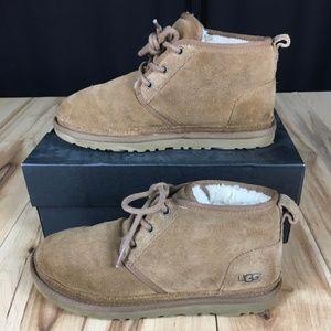 Mens UGG Brown Suede Neumel Boots Size 7